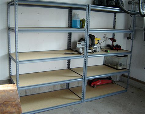 Garage Shelving Systems Some New Shelving For The Garage