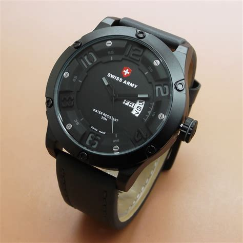 Swiss Army Sa3035 Black Original swiss army original sa3035 jam tangan pria original