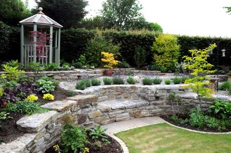 Garden Level by Paths And Patios Split Level Garden Landscaping