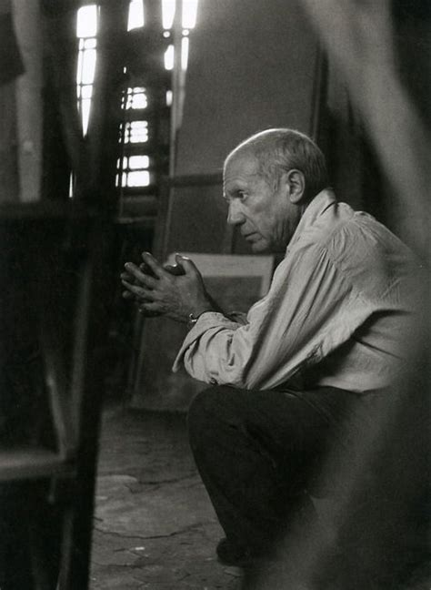 the essential picasso picasso in his studio rue des grands augustins paris 1948 icons for inspiration