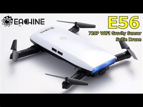 Dijamin Eachine E56 720p Wifi Fpv Selfie Drone Dji Spark Killer eachine e56 720p wifi fpv selfie drone gravity sensor mode
