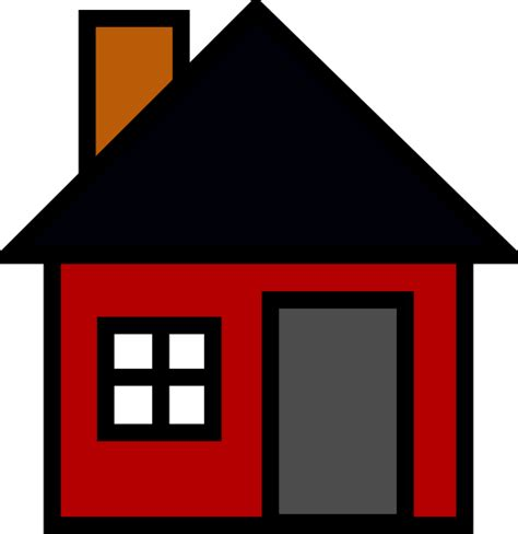 cartoon house small house clip art at clker com vector clip art online