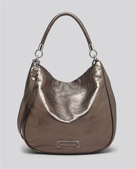 Marc Hobo by Marc By Marc Hobo To Handle Metallic In