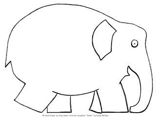 Elmer The Elephant Template by Elmer The Elephant Template Lovemybooks Free Reading