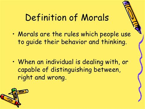 theme definition moral moral values