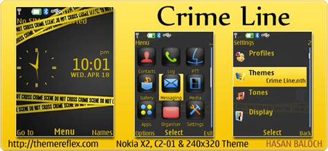 crime line for nokia c1 01 c2 00 2690 128 215 160 crime line theme themereflex