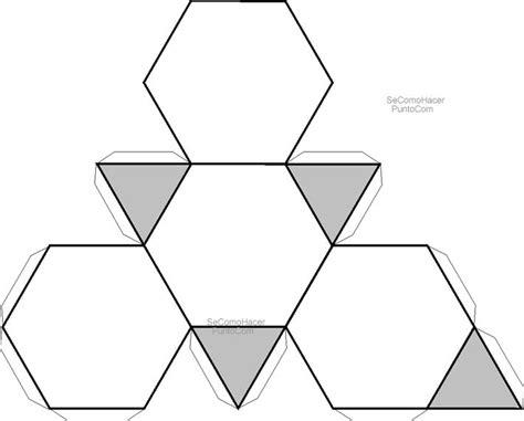 figuras geometricas recortables recortables de figuras geom 233 tricas tetrahedro truncado