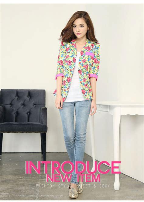 Ransel Korea Bunga Import model jas untuk anak anak modeljas
