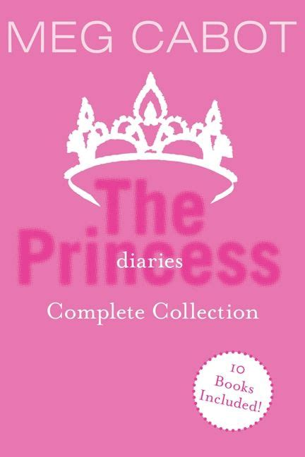 Spotlight Meg Cabot by The Princess Diaries Complete Collection Meg Cabot E Book
