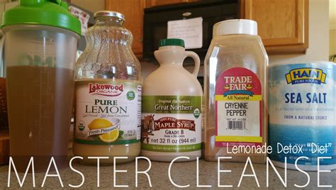 Lemonade Cleansing Detox by My Master Cleanse Experience Days 1 11 Glamazini