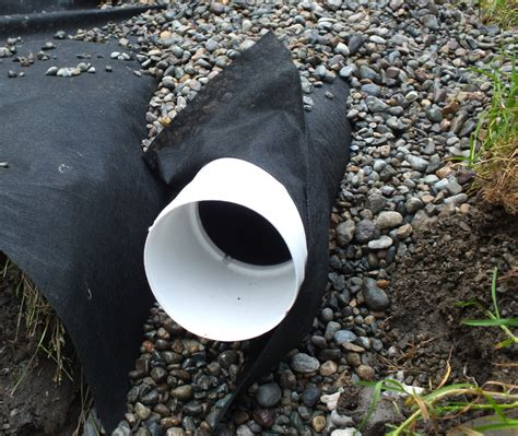 Landscape Fabric Or Plastic Around Foundation Gardentalk How To Avoid The Flood
