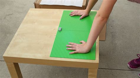 diy lego table adhesive diy on a dime build a lego table