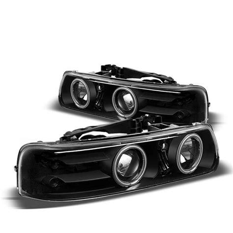 spyder 1999 2002 chevy silverado headlights