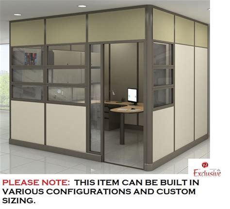 Cubicle With Door the office leader peblo modular wall ceiling