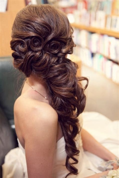 side prom hair