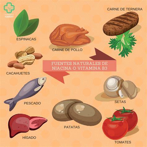 alimentos ricos en niacina niacina vitamina b3 propiedades funciones y deficiencia