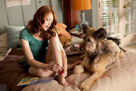 emma stone dog photos of emma stone