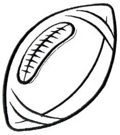 Football Laces Outline by Best Football Clipart Black And White 28747 Clipartion