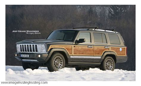 wagoneer jeep 2015 the 2015 jeep grand wagoneer complete with the wood