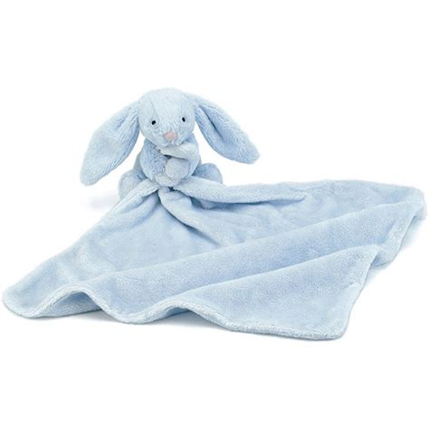 Jellycat Bashful Elly Soother Blue jellycat bashful blue bunny soother jellyexpress