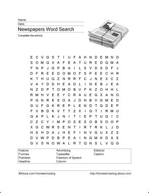 Current Events Crossword Puzzle Printable