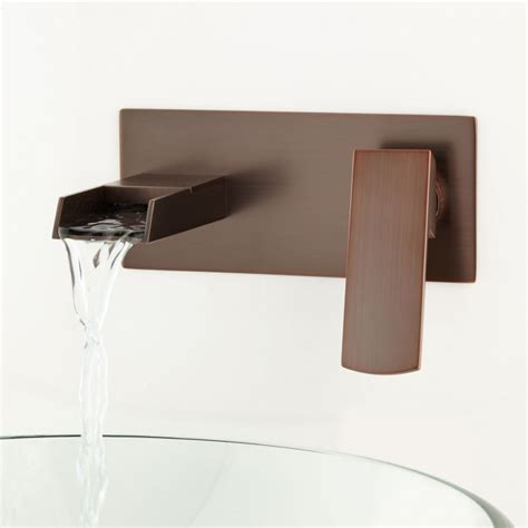 wall mounted bathtub fixtures broeg wall mount waterfall faucet wall mount faucets