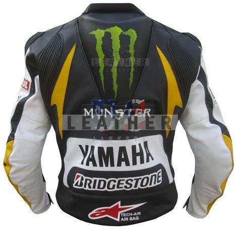 motorcycle racing jacket yamaha monster energy ben spies race leather jacket