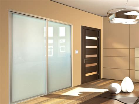 Frosted Closet Sliding Doors by Sliding Frosted Glass Closet Doors Modern New York