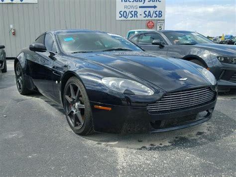Salvage Aston Martin by 2007 Aston Martin Vantage For Sale Tx Houston