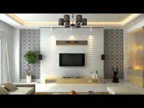 Led Tv Wall Panel Designs living room interior design specially tv unit part 2