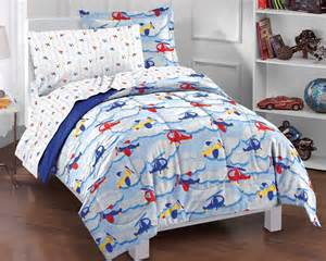 Twin Comforter Sets For Boys New Planes And Clouds Blue Boys Bedding Comforter Sheet