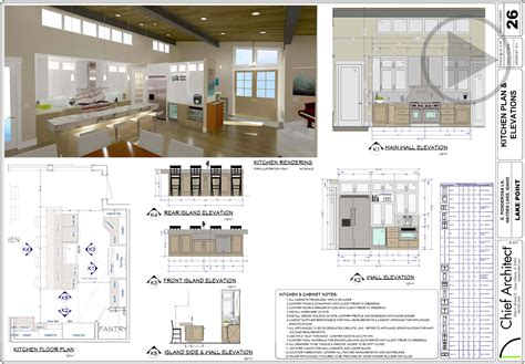 floor plans for kitchens kitchen design software chief architect