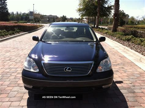 lexus sedan 2004 2004 lexus ls430 base sedan 4 door 4 3l