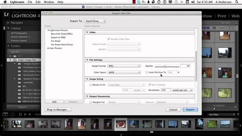 tutorial adobe photoshop lightroom 6 adobe photoshop lightroom 4 tutorial saving export