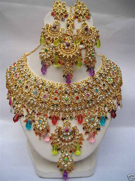 Indian Wedding Jewellery by Indian Bridal Jewelry Sets Jewelry Accessories World