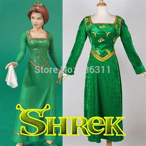 Dress Fiona 2015 costumes for custom made shrek the