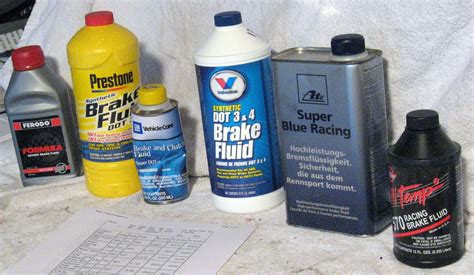 what color is brake fluid brake fluid discussion and comparison by froggy 2 guide