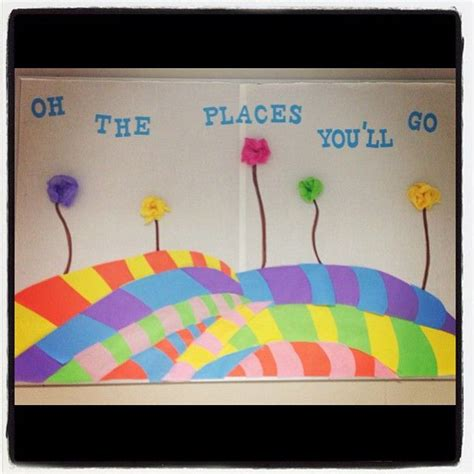 oh the places you ll go bulletin board oh the places you