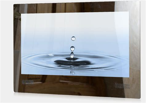 Waterproof Mirror Tv Bathroom Proofvision 19 Led Widescreen Waterproof Bathroom Tv Mirror Finish