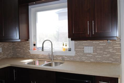 Pictures Of Kitchen Countertops And Backsplashes Kitchen Countertop And Backsplash Modern Kitchen Toronto By Caledon Tile Bath Kitchen