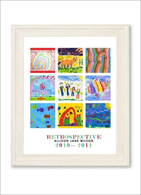 how to display art prints 21 ways to display kids artwork honor your children s