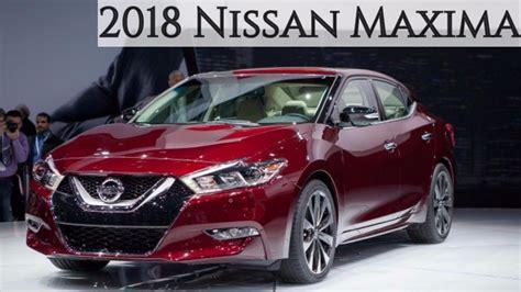 2018 nissan maxima 2018 nissan maxima specs new interior and exterior review
