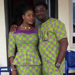 mercy johnson and her husband steps out in matching