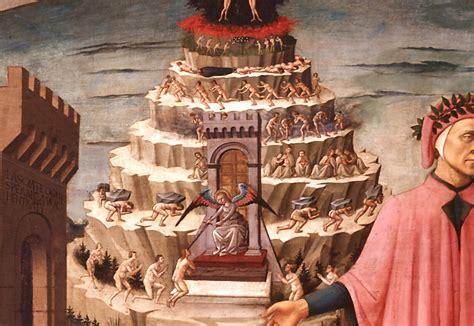 cornici purgatorio purgatory thou shalt not eat pringles in bed whilst