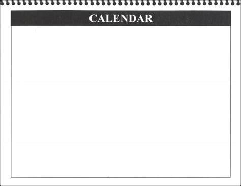 blank daily flip calendar blank calendar