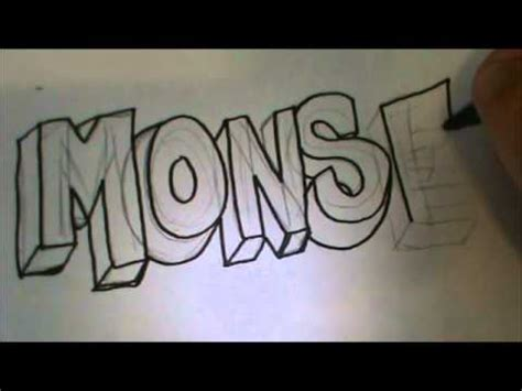 imagenes que digan te amo monse how to draw monse in 3d youtube