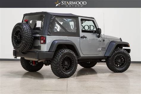 Automatic Jeep Soft Top Starwood Motors 2015 Jeep Wrangler Sport Automatic Soft