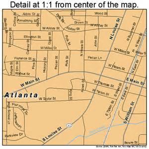 Atlanta To Tx Atlanta Map 4804516