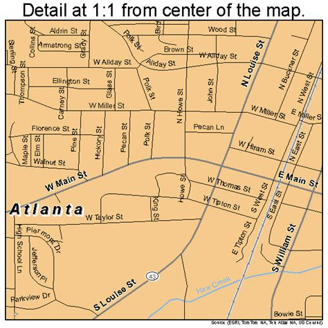 atlanta texas map atlanta texas map 4804516