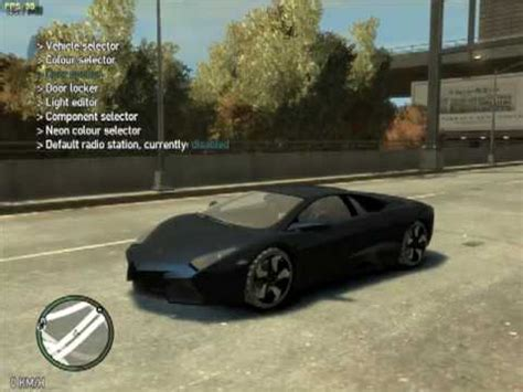 Gta 4 Cheats For Lamborghini Grand Theft Auto Iv Lamborghini Revent 243 N